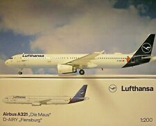 Herpa Wings 1:200  Airbus A321  Lufthansa  Die Maus  559959  Modellairport500