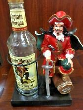 Captain Morgan Statue Bar Display Wine Holder Figurine New In Box