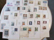Austria FDC Cover Lot #1 - 25 Covers