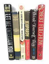 First Edition First Printing Book Assorted Lot Great Titles
