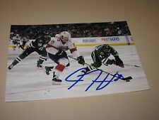 DRYDEN HUNT AUTOGRAPHED FLORIDA PANTHERS 4X6 PHOTO # 2