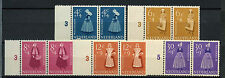 Netherlands 1958 SG#862-6 Child Welfare MNH Pairs Set Cat £58 #A62862