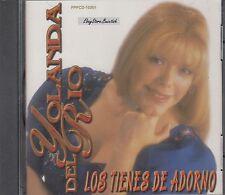 Yolanda Del Rio Los Tienes De Adorno CD New Nuevo Sealed