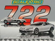 SCALEXTRIC Mercedes Benz 1955 Mi Miglia Set C2783A 1:32 Slot new old stock