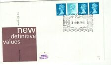 1981 NEW COIL DEFINITIVES - WINDSOR H/S FDC FROM COLLECTION F15