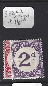 BASUTOLAND  (P1801B)  POSTAGE DUE SG D1-2   MOG