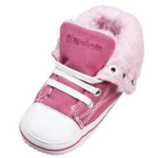 Playshoes Gefüttert 121532 Unisex-baby Krabbelschuhe Pink (pink 18) EU 19