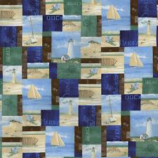 Moda COASTAL BREEZE Ocean 39020 11 Landscape Quilt Fabric By The Yard Paul Brent