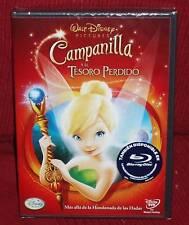 CAMPANILLA Y EL TESORO PERDIDO - DVD - DISNEY - NUEVO - PRECINTADO
