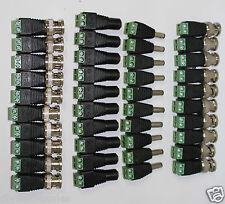 Connectors kit:20x BNC connectors plus 10pcs  Male  & 10pcs female Jack Adapter