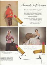 Publicité ancienne rouge à lèvres 1950 issue de magazine