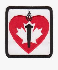 NHL TORONTO MAPLE LEAFS HEART AND STROKE PATCH