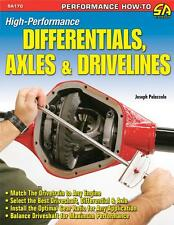 HOW TO HIGH PERFORMANCE AXLES & DRIVELINES BOOK SUITS FORD CHEV HOLDEN MOPAR ETC