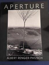 ALBERT RENGER-PATZSCH photography JOY BEFORE THE OBJECT Aperture 1993