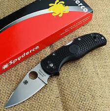 Spyderco Native 5 Lightweight S35VN Plain Edge Folding Knife C41PBK5