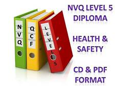 NVQ QCF LEVEL 5 Diploma in Health and Safety Practice Complete Portfolio Answers