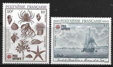 """STAMPS-FRENCH POLYNESIA. 1991. """"Phila Nippon 91"""" Set. SG: 624/25. MNH"""