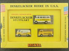 Brekina 9030 VW Bus Dinkelacker Brewery New York 1964 Boxed 1603-01-67