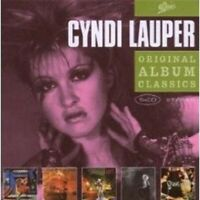 "CYNDI LAUPER ""ORIGINAL ALBUM CLASSICS"" 5 CD BOX NEW+"