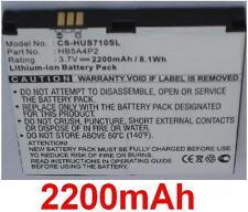 Batterie 2200mAh type HB4G1H HB5A4P2 Pour Huawei IDEOS S7