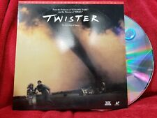 Twister LaserDisc 1996 Action Tornado Movie Laser Disc LD Bill Paxton Helen Hunt