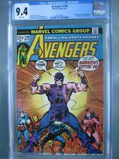 Avengers #109 CGC 9.4 WP 1973 1st app Imus Champion - Hawkeye Quits Avengers