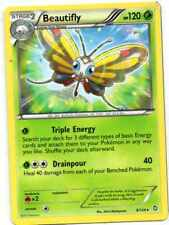 pokemon BW 6 DRAGONS EXALTED  stern karte 8/124 BEAUTIFLY 120 HP