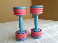 """VTG Healthways Hollywood """"Glamour Belles"""" Cast Iron Weights"""