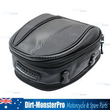 Motorcycle Scooter motorbike scooter luggage seat bag tail pack expandable
