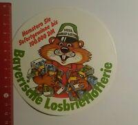 Aufkleber/Sticker: Bayerische Losbrieflotterie (231016196)