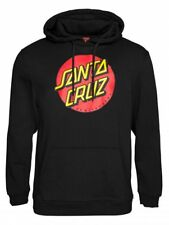 SANTA CRUZ CLASSIC punto sudadera negra jersey capucha tamaño: S