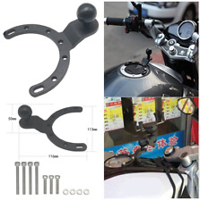 Aluminum & Stainless Steel Multi-purpose Motorcycle Gas Tank Phone Mount Holder