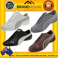 PUMA Leather Fashion Sneakers Athletic Shoes for Women
