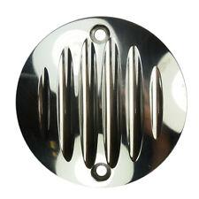 Aluminium Zündungsdeckel Pointcover Ribbed für Harley Davidson Sportster