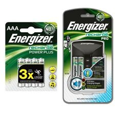 Energizer Pro Charger With 4 AA 2000mAh Rechargable 4 850mAh AAA Batteries