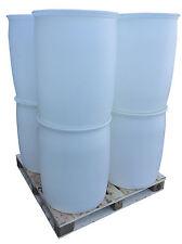 8 x 160LT Empty White Barrels
