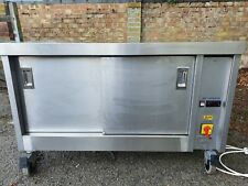 More details for catering hot cupboard, stainless steel.