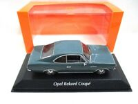 Opel Rekord C Coupe Blue  1966   Maxichamps  940046121