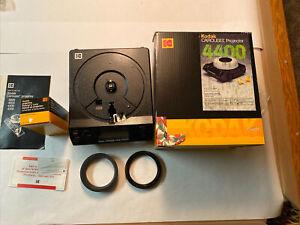 Kodak BC 4401 Carousel Slide Projector 127mm  f/2.8 Ekantar C Lens USA & Box