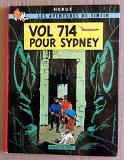 TINTIN : Vol 714 pour Sydney Edition Originale 1968