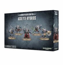Warhammer 40K - Genestealer Cults Acolyte Hybrids - New/Sealed - Free Shipping