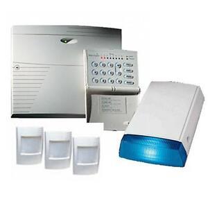 TEXECOM KIT-0037 Veritas R8 DIY Burglar Alarm Kit WITH Bell Box & 3 PIR Sensors