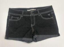 Womens Grane Black Jean Shorts Waist 36