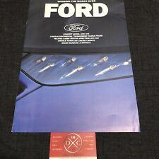 1989 Ford Probe Festiva Brochure Japanese Catalog 87 88 90 91 Vintage Laser Rare