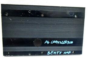 2014 CHRYSLER 300 RADIO AMP AMPLIFIER 05064982AN