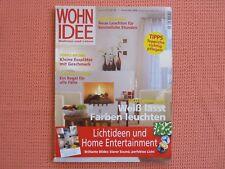 Wohnidee Wohnen Und Leben Zeitschrift Nr. 11 November 2008