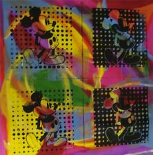 """FOUR MICKEY'S"" by Gail Rodgers - One-of-a-Kind Hand-Pulled Silkscreen - Var #2"