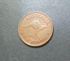 1942 Australian Half Penny,