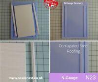 N Gauge Corrugated Roof Sheet Mould For N Gauge Model Railway N23