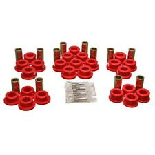 Energy Suspension Control Arm Bushing Kit 8.3127R; Red for Toyota Supra Rear